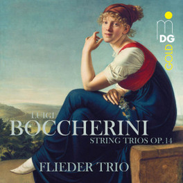 STRING TRIOS OP.11 FLIEDER TRIO L. BOCCHERINI, CD