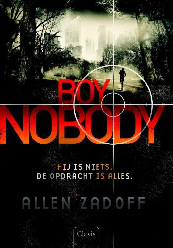 Boy nobody Zadoff, Allen, Hardcover