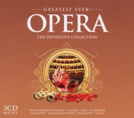 GREATEST EVER OPERA V/A, CD