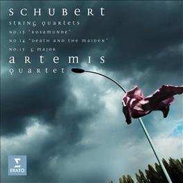 ARTEMIS QUARTET ARTEMIS QUARTET SCHUBERT, F., CD