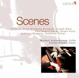 SCENES KORNGOLD/MARX/BADURA-SKODA/ESSER/MO Audio CD, SCHLECHTRIEM/KITANO, CD