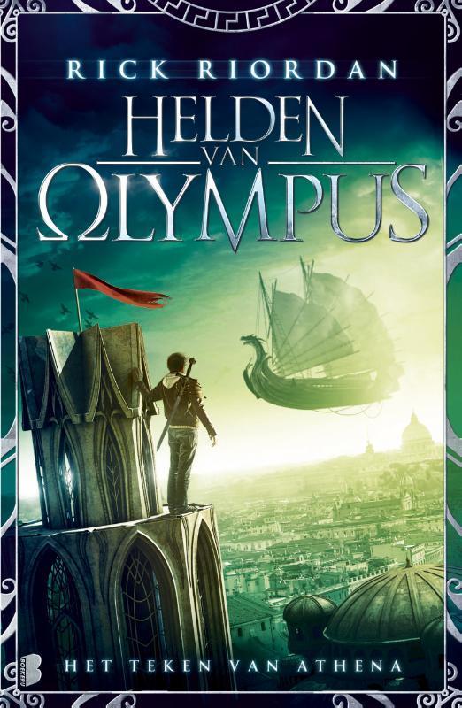 Het teken van Athena helden van Olympus 3, Riordan, Rick, Paperback