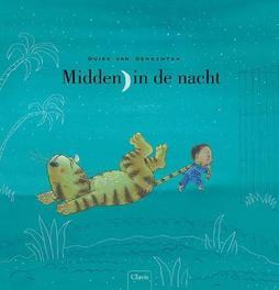 Midden in de nacht Guido Van Genechten, Hardcover