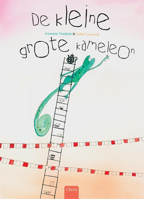 De kleine grote kameleon Vandaele, Annemie, Hardcover