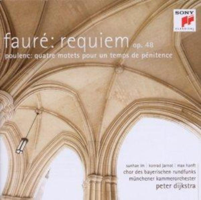 REQUIEM OP.48 PETER DIJKSTRA FAURE/POULENC, CD
