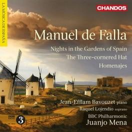 NIGHTS IN THE GARDENS.. BBC PHILHARMONIC ORCHESTRA/MENA M. DE FALLA, CD
