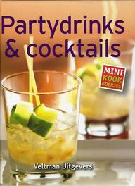 Partydrinks & cocktails Mini kookboekjes, Naumann & Gobel, Hardcover