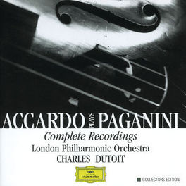 COMPLETE RECORDINGS ACCARDO/LPO/DUTOIT Audio CD, G. PAGANINI, CD