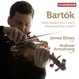 VIOLIN SONATAS NO.1 & 2 EHNES/ARMSTRONG B. BARTOK, CD