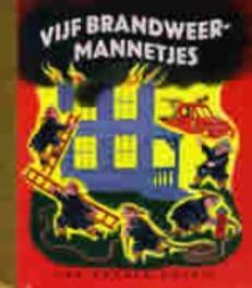 Vijf brandweermannetjes GOUDEN BOEKJES SERIE Brun, Marguerite, Book, misc