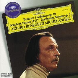 4 BALLADEN OP.10/SONATE D ...537/SONATE OP.7/W/A.B.MICHELANGELI Audio CD, BRAHMS/SCHUBERT/BEETHOVEN, CD