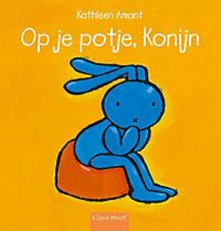 Op je potje, Konijn Kathleen Amant, Hardcover