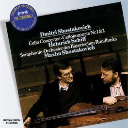CELLO CONCERTO 1 & 2 W/H.SCHIFF, SOBR, M.SHOSTAKOVICH Audio CD, SHOSTAKOVICH, D., CD
