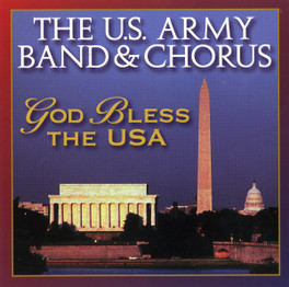 GOD BLESS THE USA U.S. ARMY BAND, CD
