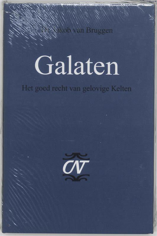 Galaten het goed recht van gelovige Kelten, Van Bruggen, Jakob, Hardcover