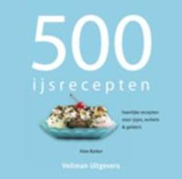 500 Ijsrecepten Boek