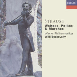 WALTZEN/POLKAS/MARCHES -WIENER PHILHARMONIKER/WILLI BOSKOVSKY Audio CD, J. STRAUSS, CD