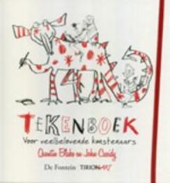 Tekenboek voor veelbelovende kunstenaars. Quentin Blake, Hardcover
