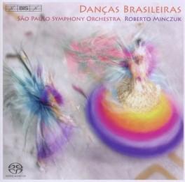DANCAS BRASILEIRAS R.MINCZUK SAO PAOLO SYMPHONY ORCHES, CD