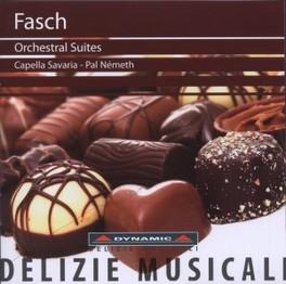 ORCHESTRAL SUITES CAPELLA SAVARIA/PAL NEMETH J.F. FASCH, CD