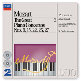 GREAT PIANO CONC.VOL.2 BRENDEL/ASMIF/MARRINER Audio CD, W.A. MOZART, CD