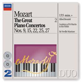GREAT PIANO CONC.VOL.2 BRENDEL/ASMIF/MARRINER Audio CD, W.A. MOZART, CD