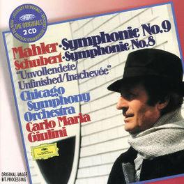 SYMPHONY NO.9&8 W/CHICAGO SYMPHONY ORCHESTRA, CARLO MARIA GIULINI Audio CD, MAHLER/SCHUBERT, CD
