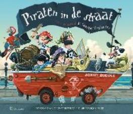 Piraten in de straat Jonny Duddle, Hardcover