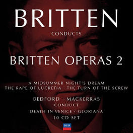 BRITTEN CONDUCTS.. VARIOUS/BRITTEN, BEDFORD, MACKERRAS Audio CD, B. BRITTEN, CD