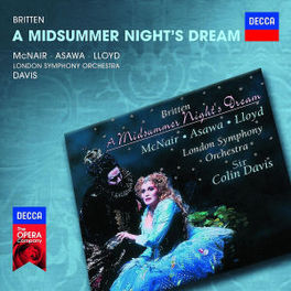 A MIDSUMMER NIGHT'S DREAM NEW LONDON CHILDREN'S CHOIR/LSO B. BRITTEN, CD