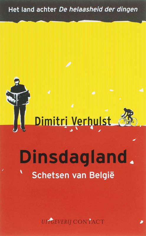 Dinsdagland schetsen van Belgie, Verhulst, Dimitri, Paperback