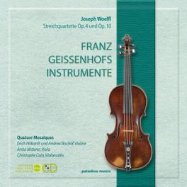 STRING QUARTETS OPP.5 & 1 QUATUOR MOSAIQUES J. WOLFL, CD