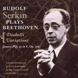 DIABELLI VARIATIONS/SONAT W/RUDOLF SERKIN Audio CD, L. VAN BEETHOVEN, CD