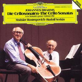 CELLO SONATEN IN E OP.38 ROSTROPOVICH/SERKIN Audio CD, J. BRAHMS, CD