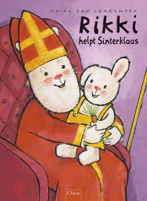 Rikki helpt Sinterklaas Guido Van Genechten, Hardcover