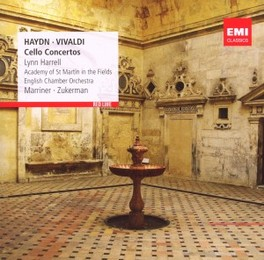 CELLO CONCERTOS NEVILLE MARRINER/PINCHAS ZUKERMAN/LYNN HARRELL HAYDN/VIVALDI, CD