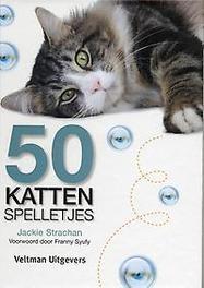 50 kattenspelletjes J. Strachan, Hardcover