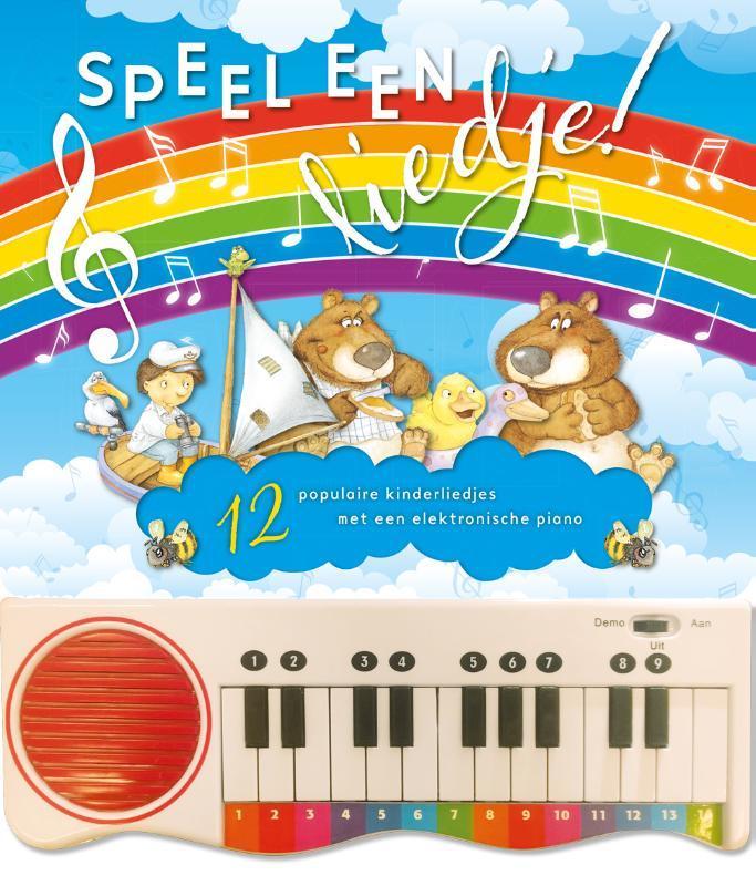 Speel een liedje! 12 populaire kinderliedjes met een elektronische piano, F. RuyerRuyer, Hardcover