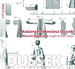 MADAME ET MONSIEUR DUSSEK MASUMI NAGASAWA, CD