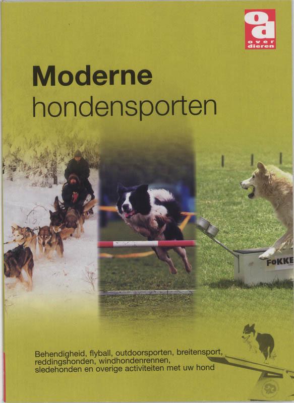 Boek over Dieren Moderne Hondensport