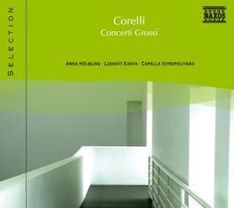 CONCERTI GROSSI HOLBLING/KANTA A. CORELLI, CD