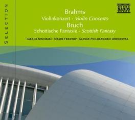 VIOLIN CONCERTO SLOVAK P.O./FEDOTOV BRAHMS/BRUCH, CD