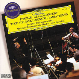 CELLO CONCERT/ROCOCO -ROSTROPOVICH/BERLINER PHILHARMONIC/VON KARAJAN Audio CD, DVORAK/TCHAIKOVSKY, CD
