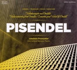 VIOLIN CONCERTOS FROM DRE INTERNATIONAL BAROQUE PLAYERS FASCH/HEINICHEN/HANDEL, CD