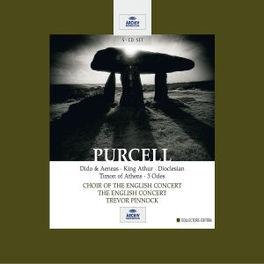 DIDO & AENEAS *BOX* T.E.C. & SOLOISTS/TREVOR PINNOCK Audio CD, H. PURCELL, CD