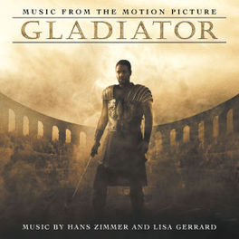 GLADIATOR MUSIC BY HANS ZIMMER & LISA GERRARD Audio CD, OST, CD