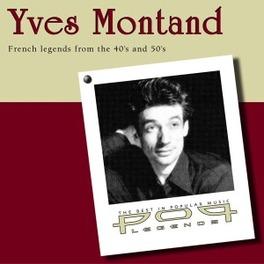 POP LEGENDS Audio CD, YVES MONTAND, CD
