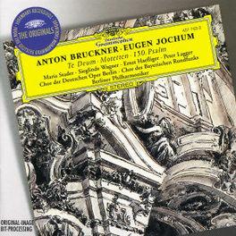 TE DEUM/150 PSALM DGG Audio CD, BRUCKNER/MOTETTEN, CD