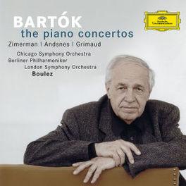 PIANO CONCERTOS PIERRE BOULEZ/ZIMERMAN/ANDSNES/GRIMAUD Audio CD, B. BARTOK, CD