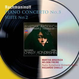 PIANO CONCERTO NO.3/SUITE W/MARTHA ARGERICH, R.S.O.B., CHAILLY Audio CD, S. RACHMANINOV, Audio Visuele Media